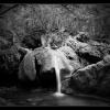 Водопад недалеко от Красной пещеры, экскурсия в Красные пещеры (Кизил-Коба)