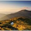 Поход Карпаты: озеро на склонах Попивана Мармарошского