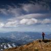 Карпаты поход: вершина горы Смотрич