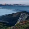 Поход Карпаты: Вид на хребет Мармарош