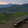 Карпаты поход: склон горы Смотрич