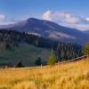 Карпаты поход: Вид на Поп Иван Чорногорский з полоныны Щавник