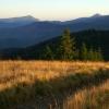 Поход Карпаты: гора Щавник, вид на Черногору
