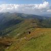 Поход Карпаты: вид с горы Поп Иван Черногорский
