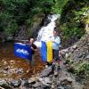 Легкий маршрут по Карпатам: водопад Малый Кузьминець