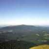 Вид на гору Лютянськая Голыця с горы Острая. Поход по Карпатам