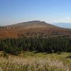 Вид на гору Менчул. Поход по Карпатам