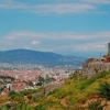 Пеший поход по Турции: вид на город Фетхие (Fethiye)