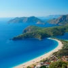 Пеший поход по Турции: вид на бухту Олюдениз