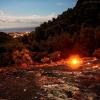 Поход по Турции: Ликийская тропа, вид с Огненной горы