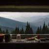 Вид из окна колибы на Кукуле