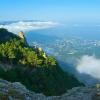 Походы по Крыму. Облака над Таракташем