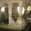 Алтарь в пещерной церкви. Тепе-Кермен. Крым