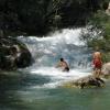 Водопад обладает гидромассажными свойствами, за что получил неформальное название