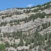 Стены правого борта Чернореченского каньона. Поход по Крыму. Фото Дмитрия Киселева