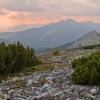 Карпаты поход: Горганы, Вид на Добошанку и Малый Горган