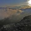 Над Ангарским перевалом. Поход Крым