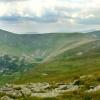 Поход Карпаты: Вид с горы Бребенескул на озеро Бребенескул