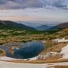 Поход по Черногорскому хребту: озеро Несамовите