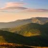 Поход по Черногорскому хребту: вид с горы Туркул