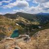 Поход по Черногорскому хребту: озеро и гора Бребенескул