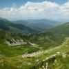 Поход по Черногорскому хребту: вид с горы Ребра