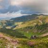 Поход по Черногорскому хребту: урочище Гаджина, Черногора. Справа возвышается г. Ребра