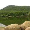 Горное озеро Парагильмен, поход по Крыму