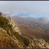 Вид с горы Парагильмен, поход по Крыму