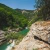 Поход по горам Крыма: Чернореченский каньон