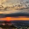 Закат на Мангуп-Кале. Поход Крым