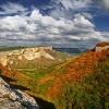 Качи-Кальон вид с Алимовой балки. Поход по Крыму