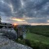 Утро в пещерном городе Эски Кермен. Поход Крым