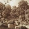 Караимское кладбище в Чуфут-Кале 1824 год. Крым