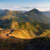 Вид на горы Берлибашка та Петрос Мармарошский