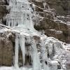 Водопад Учан-Су зимой. Крым