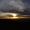 Закат на Ялтинской яйле. Крым