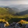 Поход Говерла: Восход солнца на склоне Говерлы