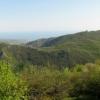 Красивый вид с Верхнего Шелена, пеший поход по Крыму
