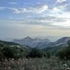 Вид с горы Сахарная головка (Сори), пеший поход Крым