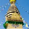 Непал: храмовый комплекс Сваямбунатх (Swayambhunath) или Обезьяний храм