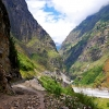 Поход по Непалу: трек вокруг Манаслу, путь в Чамче (Chyamche)