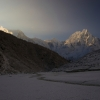 Непал: селение Бхимтанг (Bhimtang), рассвет.