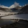 Непал: селение Бхимтанг (Bhimtang), утро