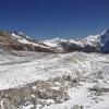 Непал: трек Манаслу, Ларкия Ла Larkya La (Pass), вид с наивысшей точки трека