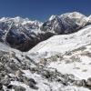 Непал: трек Манаслу, Ларкия Ла Larkya La (Pass), спуск к Бимтханг