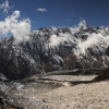 Непал: трек Манаслу, на спуске с перевала