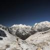 Непал: трек Манаслу, портеры на спуске с перевала