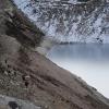Непал: трек Манаслу, портеры на пути к перевалу Ларкия (Larkya La)