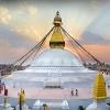 Непал: Катманду, Боднатх (Boudhanath) - главный символ Катманду